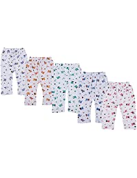 Kuchipoo Unisex Regular Fit Cotton Pyjama Bottom (Pack of 5)