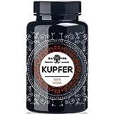 DiaPro Kupfer Hochdosierte Kupfer-Tabletten mit 2 mg Kupfer pro Tablette aus Kupfer-Gluconat 365 Stück Jahresvorrat 100% Vegan Laborgeprüft