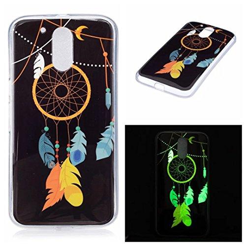 Preisvergleich Produktbild Moto G4 Hülle, COWX TPU Hülle für Lenovo Motorola Moto G4 Handyhülle Schutz, Moto G4 TPU Schutzhülle,Schützende TPU Case Handy Tasche für Motorola Moto G4
