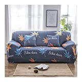 VGUYFUYH Slipcover All Inclusive Universal Allgemeine Sofabezug Einfach Faul Schlafcouch Set, A (235~300Cm), Marvellous Cat Winkel