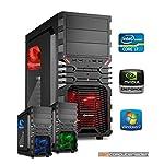 dercomputerladen Gamer PC System Intel, i7-4790K 4x4,0 GHz, 16GB RAM, 2000GB HDD, nVidia GTX970 -4GB, inkl. Windows 7 (inkl. Installation)