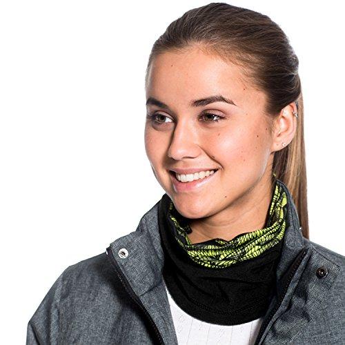 Sciare SAVITA 1 Pezzi Fascia per Capelli Invernale Headband Sport per Running Nero Donna Uomo