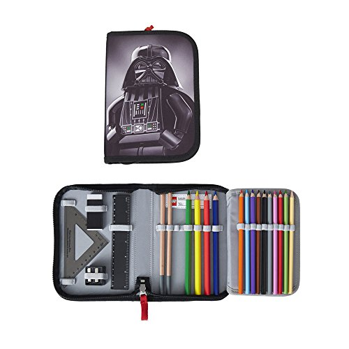Lego - Schüleretui / Federtasche / Pencil Case- Star Wars Darth Vader - Gefüllt