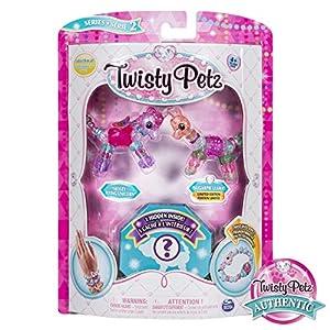 Spin Master Twisty Petz 3 Pack - Kits de joyería para niños (Pulsera, 4 año(s), Colores Surtidos, Niño, Chica, China)