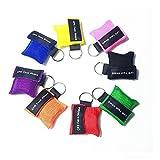 Cpr Maske Schlüsselanhänger-8 Stücke CPR Face Shield Erste Hilfe -Cpr Life Key