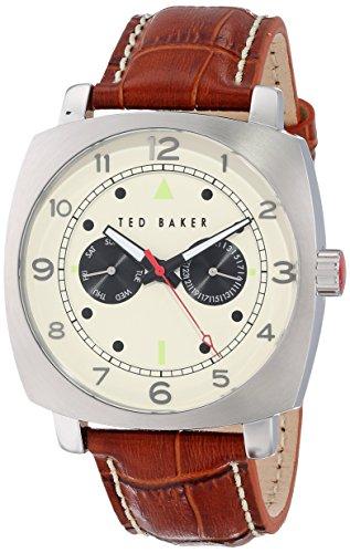 ted-baker-da-uomo-43-mm-colore-marrone-con-cinturino-e-cassa-in-acciaio-al-quarzo-quadrante-analogic