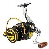 13 + 1Bb Rodamientos Pesca Surfcasting De Larga Distancia De Carrete Izquierda Convertible Plegable Mango Spinning Reel (1000--7000)