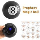 Leoie Magic Kits Magic Accessories Magic Ball Unique Interesting Prophecy Toy Round Prophecy Ball Magic Decision Maker