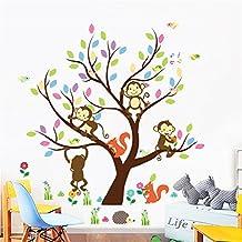 ElecMotive Pegatina para pared decorativos para Decorar Las habitaciones de los bebé Búho