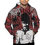 UOSIQZDF Coole Hoodies White Men's Hoodie Sweatshirt Bequeme Farben XXL A Tribute to GG Allin Pullover Hoodie