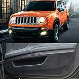 Premium Suede puerta entrada proteger anti arañazos cubierta accesorios para Jeep Renegade