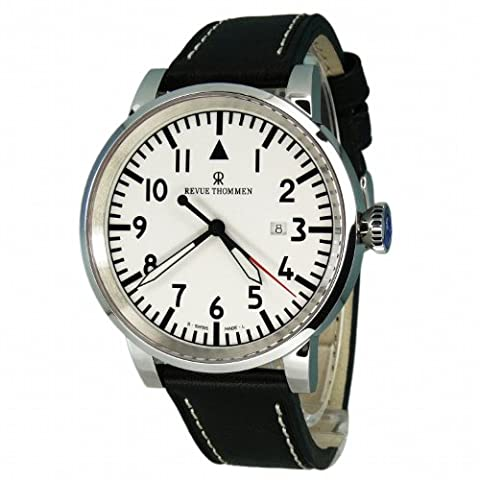 Revue Thommen Men's Automatic Watch 16053.2533 with Leather Strap