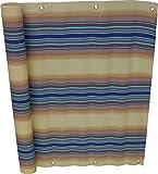 Angerer Balkonbespannung Nr. 7700 blau, 75 cm hoch, Länge: 6 Meter3318/7700_600