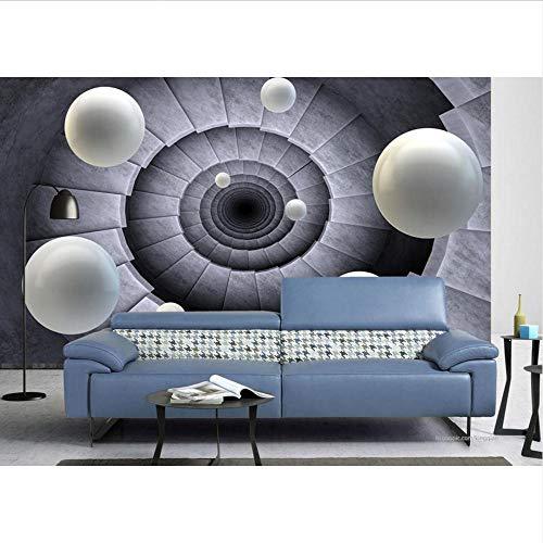 wallpaper für badezimmer benutzerdefinierte papel de parede 3d europeu wallpaper Drehen Sie die Treppe zum Ball 3d wallpaper Wohnzimmer-400x280cm -