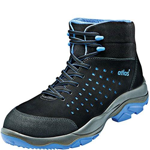 ESD Chaussures de sécurité SL 825XP Blue Large dans 10après en ISO 20345S1P SRC de Atlas Schwarz