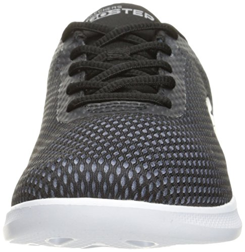 Skechers Go Step Lite-Interstelllar, Sneaker Donna Black/White Ombre