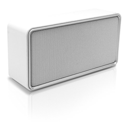 Akai AWS02WE - Altavoces portátiles (3 W, alámbrico, 3.5 mm) blanco