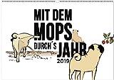 Mit dem Mops durch´s Jahr 2019: Ein Mopskalender