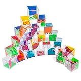 Goods & Gadgets Mini Geduldsspiele Mega-Set mit 24 Kugel-Spielen Geschicklickheitsspiele als Mitgebsel