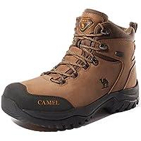 Camel Botas de Senderismo para Hombres Zapatillas de Escalada Confortables Antideslizantes y Resistentes al Desgaste Zapatos