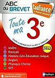 Toute ma 3e : Programmes 2012