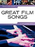 Really easy Piano: GREAT FILM SONGS mit Bleistift -- 22 beliebte Filmmelodien sehr leicht gesetzt für Klavier u.a. aus CASINO ROYALE und WALK THE LINE - ideal für Anfänger und Wiedereinsteiger (Noten/sheet music)
