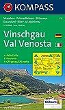 Vinschgau, Val Venosta: Wander-, Rad- und Skitourenkarte. Carta escursioni, bike e sci alpinismo. GPS-genau. 1:50.000