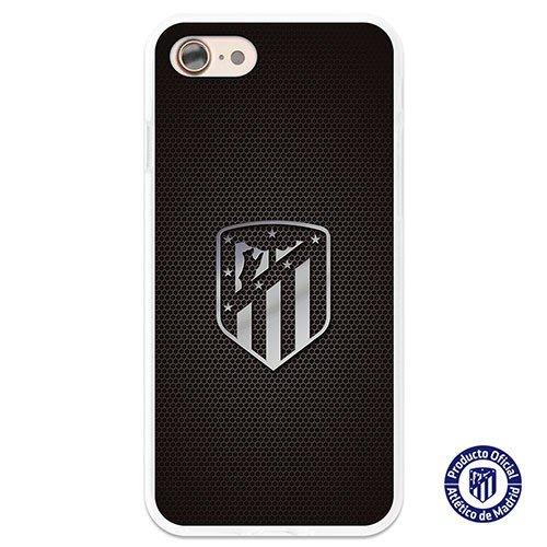 Atlético de Madrid Carcasa Oficial Escudo Plata iPhone 7