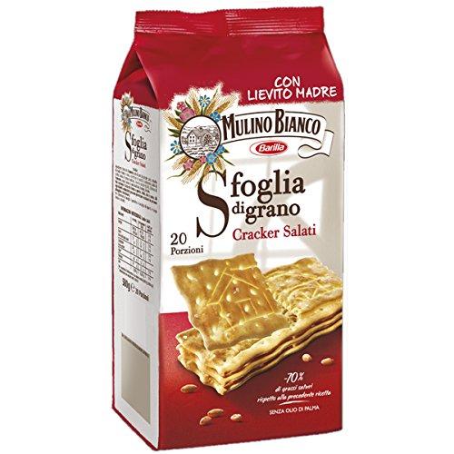 Mulino bianco sfoglia di grano crackers salati gr.500 (1000035250)