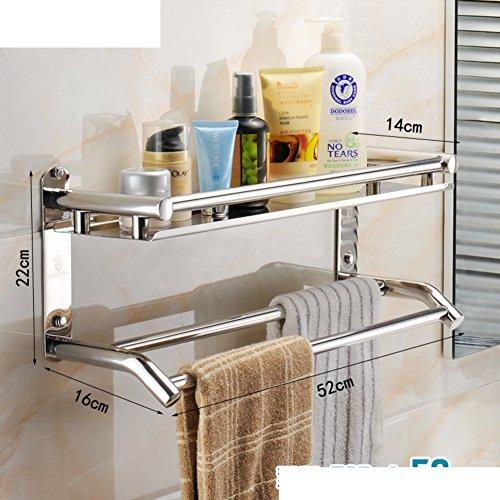 Salviette in acciaio inox/ montaggio a parete doccia camera/Asciugamano bagno cremagliera (A / V Per Montaggio A Parete Sistema)