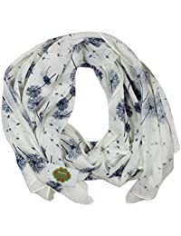 New with Tags Dandelion Print Scarves Women Scarf (Creamy White)