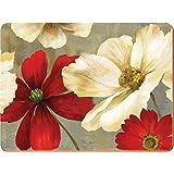 Creative Tops Lot de 4sets de table XL à motif de fleurs