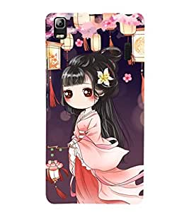 EPICCASE cute chinese Mobile Back Case Cover For Lenovo A7000 (Designer Case)