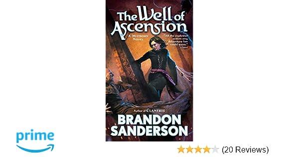 Mistborn 2 The Well Of Ascension Amazonde Brandon Sanderson