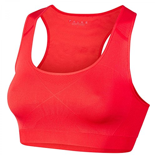 Falke – Bra Top M Support Shape Reggiseno Sportivo Bloody Mary