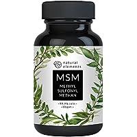 Der VERGLEICHSSIEGER 2018* MSM Kapseln - 365 vegane Kapseln - Laborgeprüft - 1600mg Methylsulfonylmethan (MSM) Pulver pro Tagesdosis - Ohne Magnesiumstearat, künstliche Ascorbinsäure - Hochdosiert, hergestellt in Deutschland