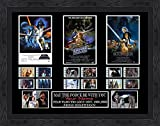 CUSTOM - Star Wars Trilogy film cell (1977,1980,1983) Filmcell, Once...