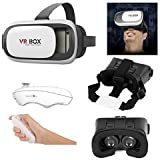 ALDIVO 3D Vr Box For Huawei Honor 8 Lite (2017) With Bluetooth Remote Control / Virtual Reality Headset 3D Glasses Version 2.0 Vr Box For Huawei Honor 8 Lite (2017)