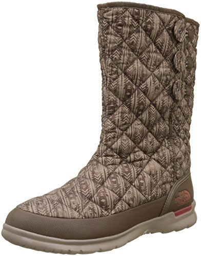 485251c1183 The North Face W Thrmoball Buttonup, Botas para Mujer, Marrón  (Nrthwstdstrsdprt/Etrscnrd
