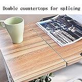 5 IN 1 TABLE XIAOYAN Beistelltisch Folding Nachttisch höhenverstellbar Laptop Tisch Bett Schreibtisch multifunktionale Platz sparend, Farbe: Black Walnut Mehrzweck (Farbe : Ancient Oak)