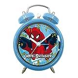 Arditex sm8706Wecker rund Glocken, Design Spiderman