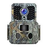 Udream Udream Jagdkamera mit Bewegungsmelder,Wildkamera HD Wasserdichte Jagdkamera120 ° Weitwinkelobjektiv 16MP 1080P Nachtsicht Infrarot für Außen- und Heimüberwachung