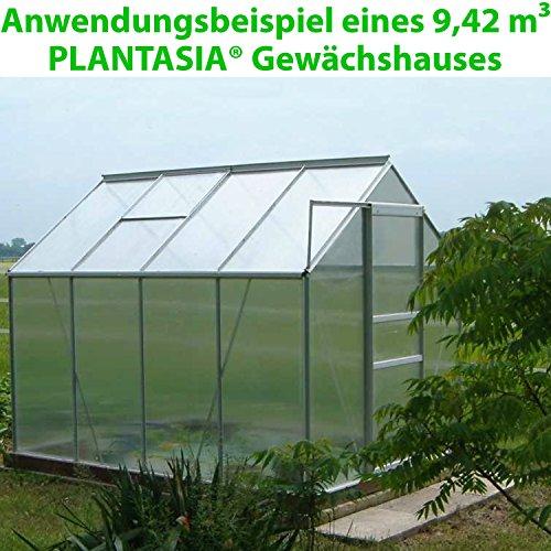 Plantasia Alu Gewachshaus Mit Fenster Grossenwahl 3 94 M 9