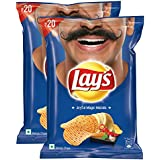 Lays Potato Chips - India's Magic Masala, 52gm (Pack of 2) Promo Pack