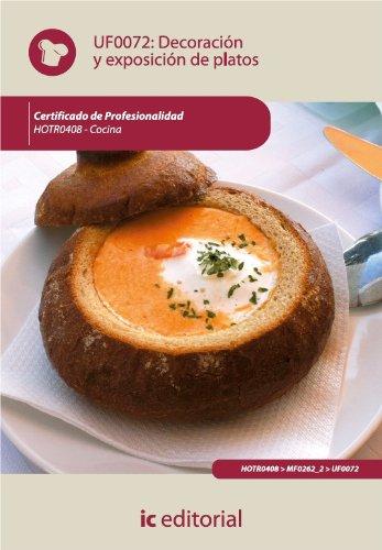 Decoración y exposición de platos. HOTR0408 por María Nieves Jiménez Romero