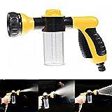 #10: HOKIPO® 8 Pattern High Pressure Car Washing Foam Nozzle Gun