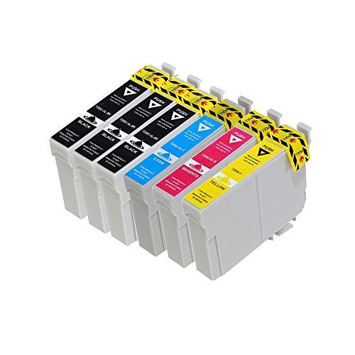 vivink rigenerate cartucce d' inchiostro per Epson 29X L t2991-t2994compatibile con Epson Expression Home XP-235XP-332XP-335xp-442Confezione da 6con chip