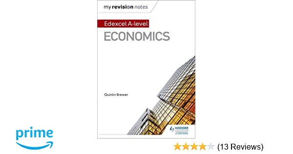 My Revision Notes: Edexcel A Level Economics: Amazon co uk