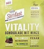 SlimFast Vitality Schokolade mit Minze Pulver, 486 g