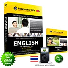 English (US) for THAI Speakers - THE COMPLETE SET - V3 - (DVDROM)